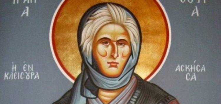 Υποδοχή ιερών λειψάνων Οσίας Σοφίας της Ασκήτριας της εν Κλεισούρα στη Δροσοπηγή