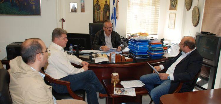 Συνάντηση του δημάρχου Φλώρινας με το προεδρείο του ΣΟΧ