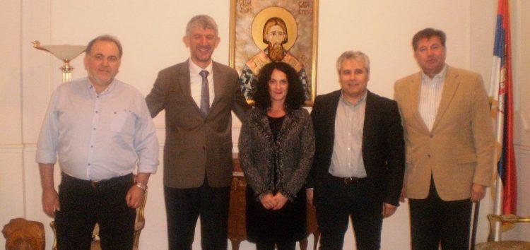 Συναντήσεις του αντιπεριφερειάρχη και του προέδρου του ΕΒΕ για θέματα τουρισμού και εμπορικών συνεργασιών