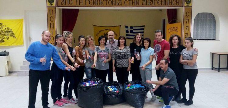 Η Στέγη Ποντίων Αμυνταίου συγκεντρώνει πλαστικά καπάκια, βοηθώντας τα ΑμΕΑ του δήμου