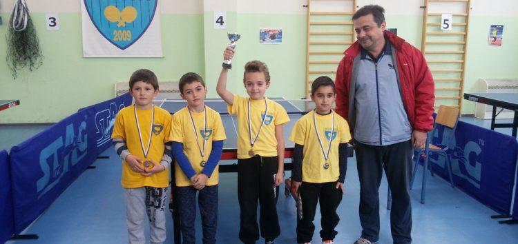Ολοκληρώθηκε το 5ο σχολικό πρωτάθλημα επιτραπέζιας αντισφαίρισης Φλώρινας