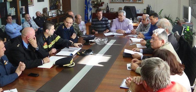 Σύσκεψη Συνονιστικού Οργάνου Πολιτικής Προστασίας Αποχιονισμού – Πλημμυρών