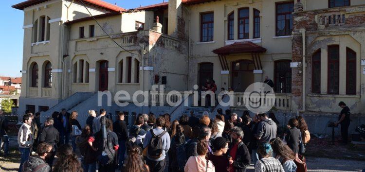 Η υποδοχή πρωτοετών φοιτητών στον υπό ανακαίνιση χώρο της Αγίας Όλγας (video, pics)