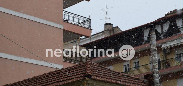 Οι πρώτες νιφάδες χιονιού πέφτουν στη Φλώρινα! (pics)