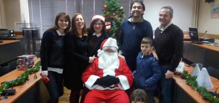 Χριστουγεννιάτικη εκδήλωση του συλλόγου εργαζομένων της Π.Ε. Φλώρινας