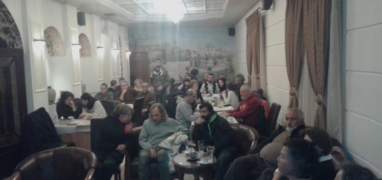 Με επιτυχία πραγματοποιήθηκε η προβολή του ντοκιμαντέρ για τον ΔΣΕ στη Φλώρινα