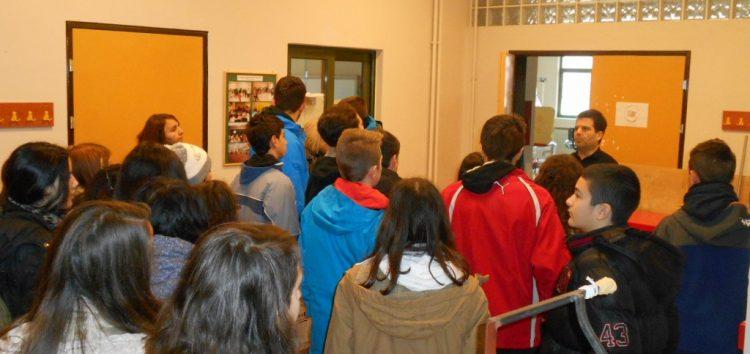 Επίσκεψη του 3ου γυμνασίου στο ειδικό δημοτικό σχολείο Φλώρινας
