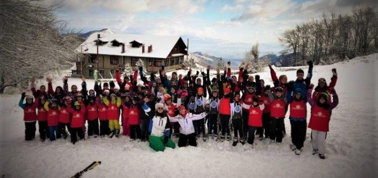 Πρεμιέρα αναβάσεων για τον Α.Ο.Φ. στο Χιονοδρομικό Κέντρο Βίγλας – Πισοδερίου
