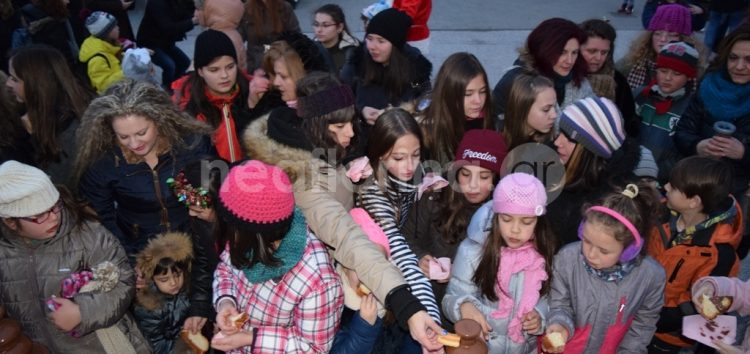 Γιορτή σοκολάτας στο Ξύλινο Χωριό (video, pics)