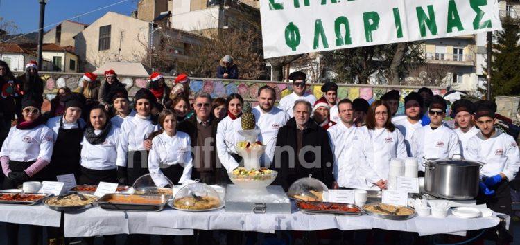 Γευσιγνωσία τοπικών προϊόντων από το τμήμα μαγειρικής της ΕΠΑΣ ΟΑΕΔ Φλώρινας (pics)