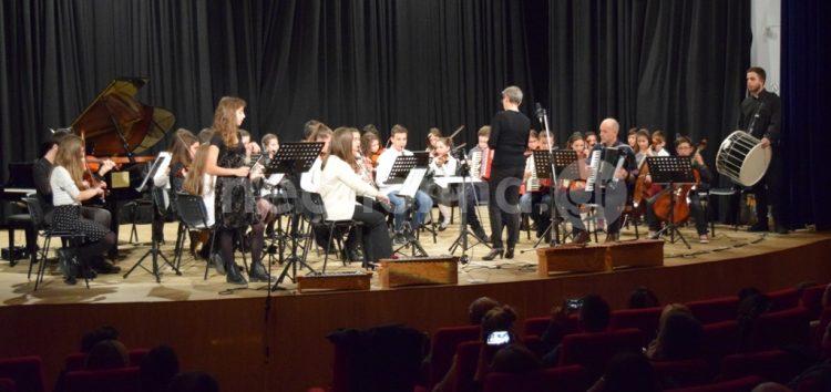 Χριστουγεννιάτικη συναυλία του Ωδείου (video, pics)
