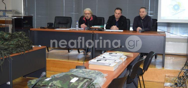 Παράδοση εξοπλισμού σε ομάδες εθελοντών από την Π.Ε. Φλώρινας (video, pics)