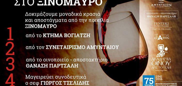 Αφιέρωμα στο ξινόμαυρο από την Ακαδημία Οίνου του «Αριστοτέλη»