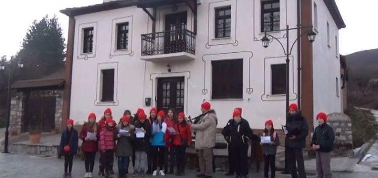 Τα κάλαντα των Χριστουγέννων από τα παιδιά της Πρέσπας