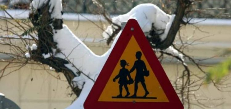 Κλειστά τα σχολεία την Τρίτη 8 Ιανουαρίου στο δήμο Φλώρινας