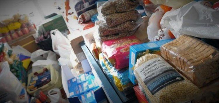 Συλλογή τροφίμων μακράς διάρκειας από το τμήμα του ΕΕΣ Φλώρινας στο Ξύλινο – Χριστουγεννιάτικο Χωριό