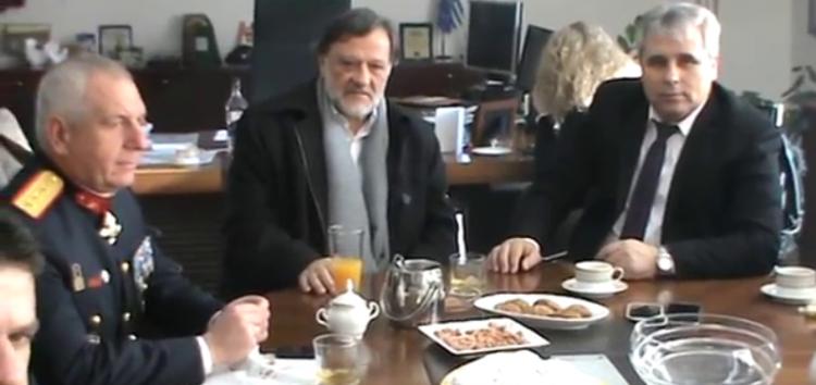 Ευχές για την Πρωτοχρονιά δέχτηκε ο Αντιπεριφερειάρχης Π.Ε. Φλώρινας (video, pics)