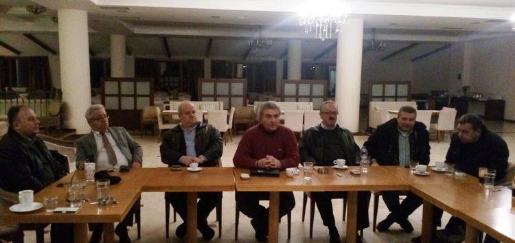 Η πρώτη συνάντηση των μελών της ΝΟΔΕ Φλώρινας για τη νέα χρονιά