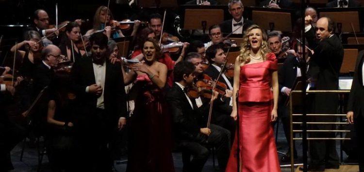 Η Φλωρινιώτισσα σοπράνο Βιολέττα Λούστα στο Πρωτοχρονιάτικο Γκαλά Όπερας της Κρατικής Ορχήστρας Θεσσαλονίκης (video, pics)
