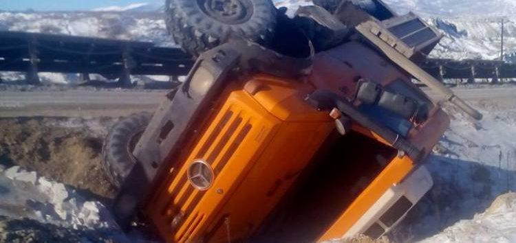 Ανατράπηκε όχημα με πέντε εργαζόμενους στο ορυχείο Αμυνταίου