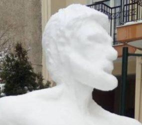 Και ο… ημίθεος Ηρακλής, σε χιονογλυπτό στη Φλώρινα! (pics)