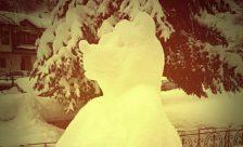 Γέμισε χιονογλυπτά η Φλώρινα! (pics)
