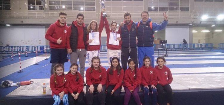 Πρωταθλήτρια Ελλάδος η Αφροδίτη Ταρενίδου