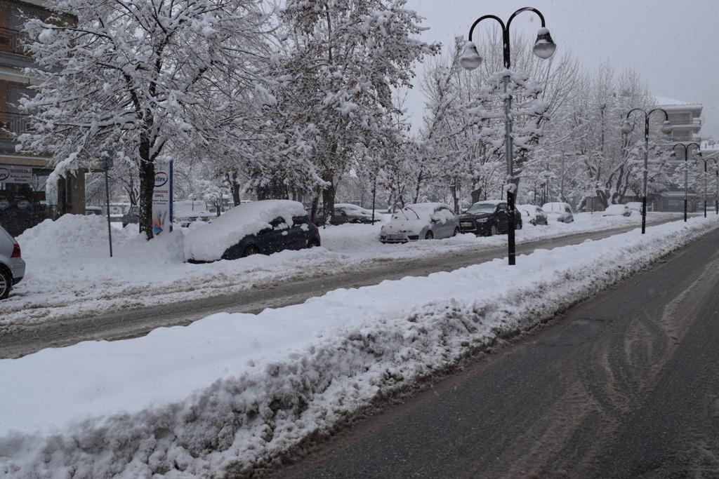 Αποτέλεσμα εικόνας για χιονια φλωρινα 2017