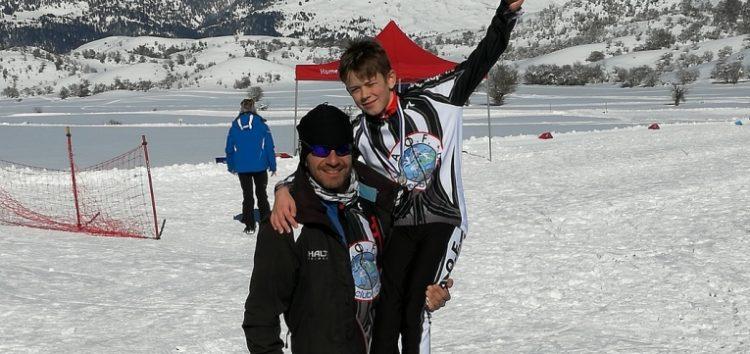 Καλύτερος παμπαίδας ο Ροσενλής, στο 1ο Κύπελλο Ελλάδος CrossCountyski