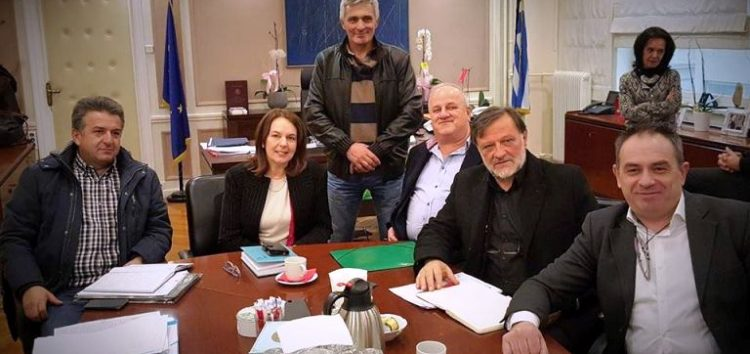 Συνάντηση στο υπουργείο Οικονομικών για τις ανταλλάξιμες εκτάσεις του Αγίου Γερμανού