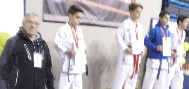 Ασημένιο μετάλλιο για τον Λουκά Σιώκη στο Πανελλήνιο Πρωτάθλημα shotokan Καράτε