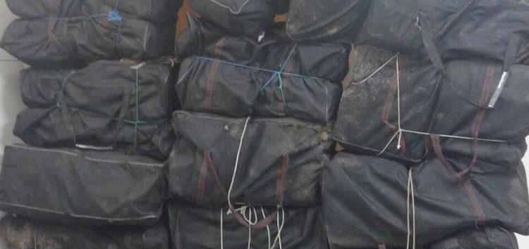 Σύλληψη 21χρονου υπηκόου Αλβανίας για διακίνηση 312 κιλών και 645 γραμμαρίων ακατέργαστης κάνναβης