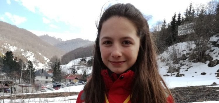 Χρυσή και αργυρή Βαλκανιονίκης η αθλήτρια του Α.Ο.Φ. Νεφέλη Τίτα, στο Children Balcan Cup Mavrovo 2017