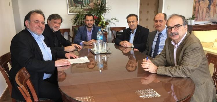 Σύσκεψη στο υπουργείο Οικονομίας για τηλεθέρμανση Μελίτης, αναπτυξιακό νόμο και κάθετο άξονα Φλώρινας – Πτολεμαΐδας
