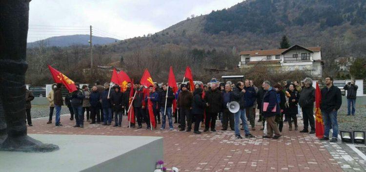 Η εκδήλωση του ΚΚΕ με αφορμή τη μάχη του ΔΣΕ στη Φλώρινα (pics)