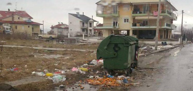 Παράπονα πολιτών για την καθαριότητα