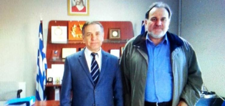 Συνάντηση του προέδρου του ΕΒΕ Φλώρινας με τον Πρόξενο της Ελλάδας στην Κορυτσά