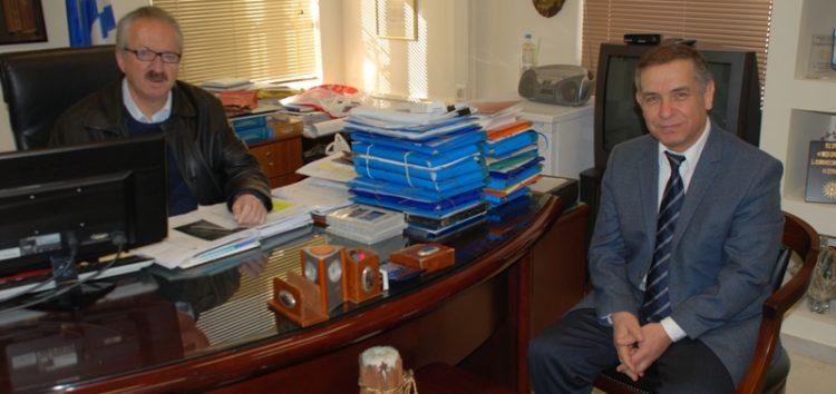 Συνάντηση του δημάρχου Φλώρινας με τον Γενικό Πρόξενο της Ελλάδας στην Κορυτσά