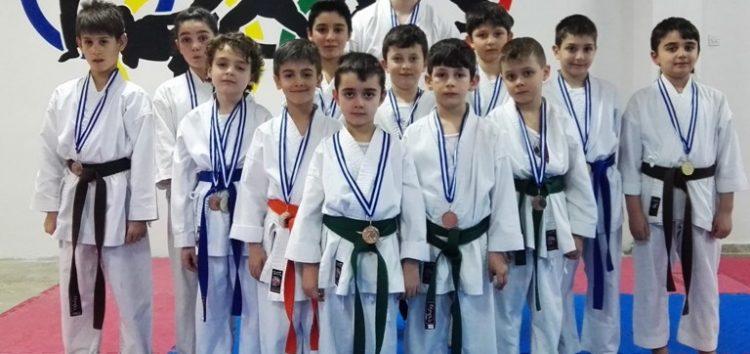 30 μετάλλια για τον Α.Σ. Σότοκαν Καράτε Φλώρινας στο 4ο Κύπελλο «Αντωνία Τσαμουρίδου»