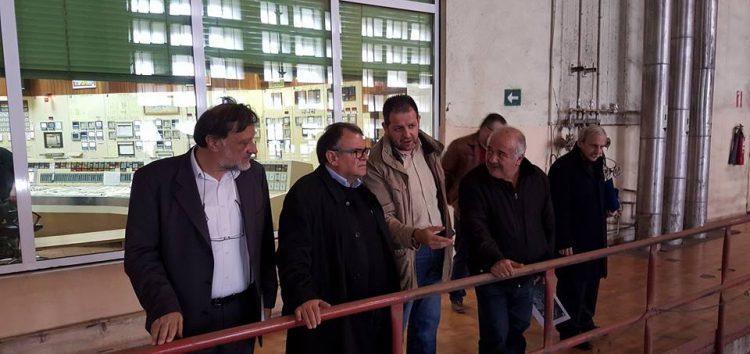 Επίσκεψη του βουλευτή Κ. Σέλτσα στον ΑΗΣ Αμυνταίου και τη ΔΕΤΕΠΑ