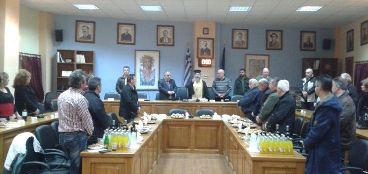 Κοπή βασιλόπιτας των αιρετών και των δημοτικών υπαλλήλων του δήμου Αμυνταίου (pics)