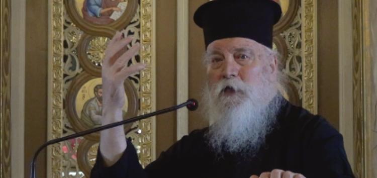 Ο ιεροκήρυκας π. Δανιήλ Αεράκης στον Ι.Ν. Αγίου Νικολάου την Κυριακή της Τυρινής