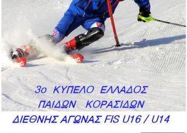 Διεθνείς αγώνες αλπικού σκι από τον ΣΟΧ Φλώρινας στο χιονοδρομικό κέντρο Βίγλας Πισοδερίου