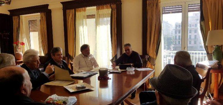 Συνάντηση του βουλευτή Κ. Σέλτσα και της Ομοσπονδίας Συνταξιούχων Προέδρων Κοινοτήτων με τον υπουργό Π. Σκουρλέτη