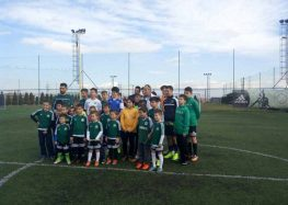 Κοπή βασιλόπιτας στην Ακαδημία Ποδοσφαίρου «Τσοτάκη»