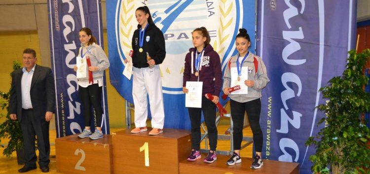 Τρίτη θέση για την Ειρήνη – Μαρία Τσαρτσιταλίδου στο Πανελλήνιο Πρωτάθλημα Καράτε