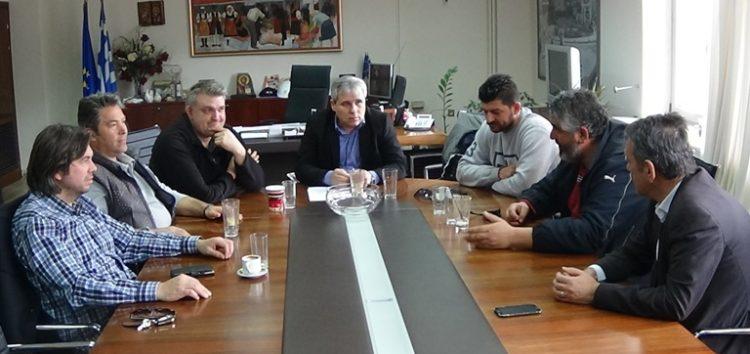 Συνάντηση του αντιπεριφερειάρχη με τη συντονιστική επιτροπή για την τηλεθέρμανση Μελίτης