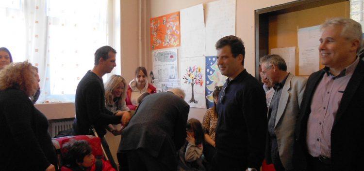 Επίσκεψη του υπουργού Παιδείας στο πρόγραμμα συνεκπαίδευσης του ειδικού δημοτικού σχολείου Φλώρινας