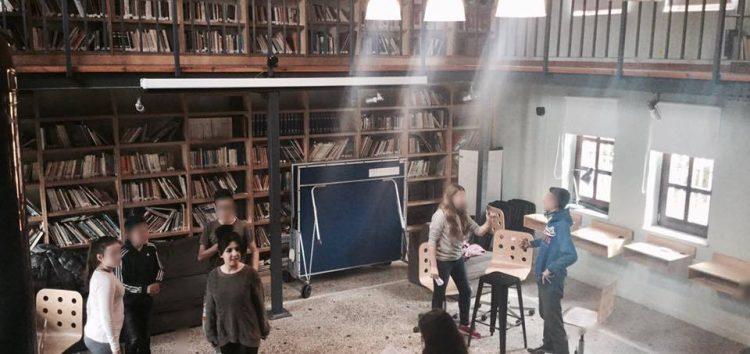 Το ΔΗΠΕΘΕ Κοζάνης στη Δημοτική Βιβλιοθήκη των Πρεσπών