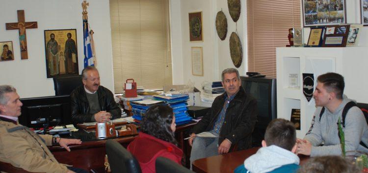 Συνάντηση του δημάρχου Φλώρινας με εκπαιδευτικούς και μαθητές